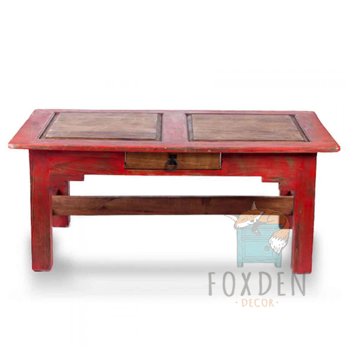 Awe Inspiring Acuna Red Coffee Table 0614 Home Interior And Landscaping Dextoversignezvosmurscom