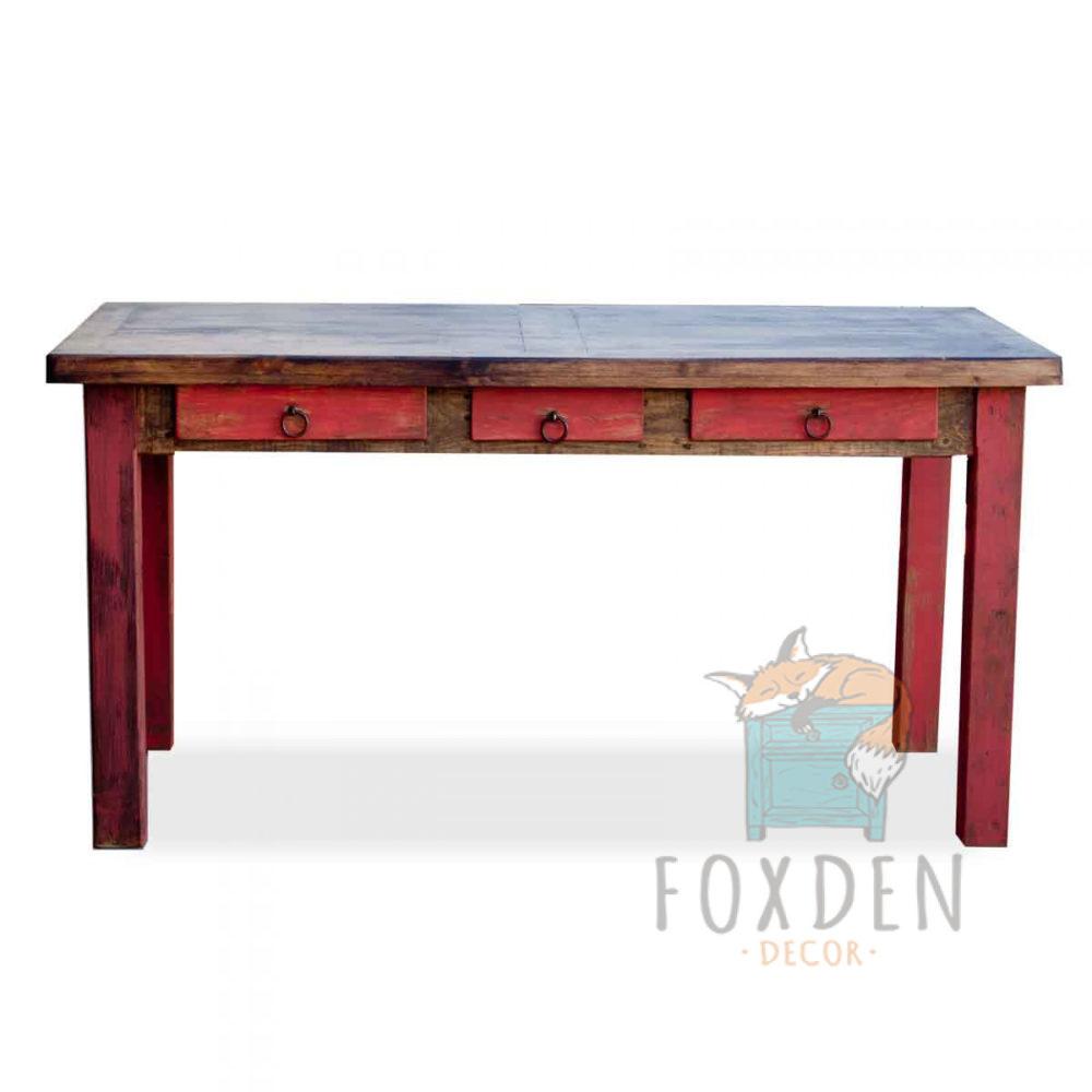 red-rustic-desk
