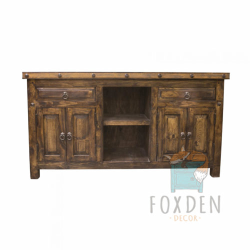 reclaimed bathroom console