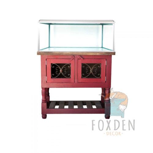 rose custom aquarium stand