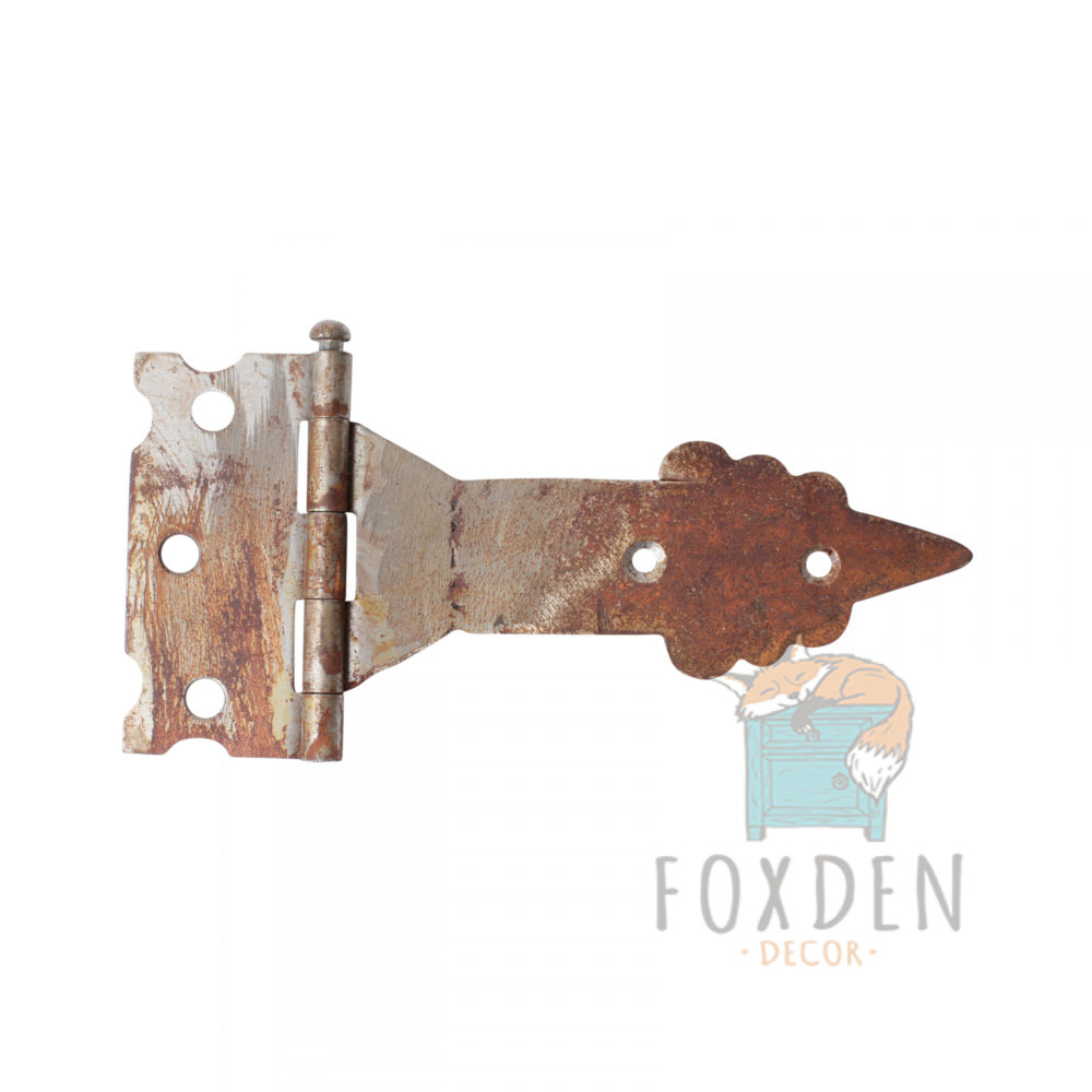 old world rustic hinge