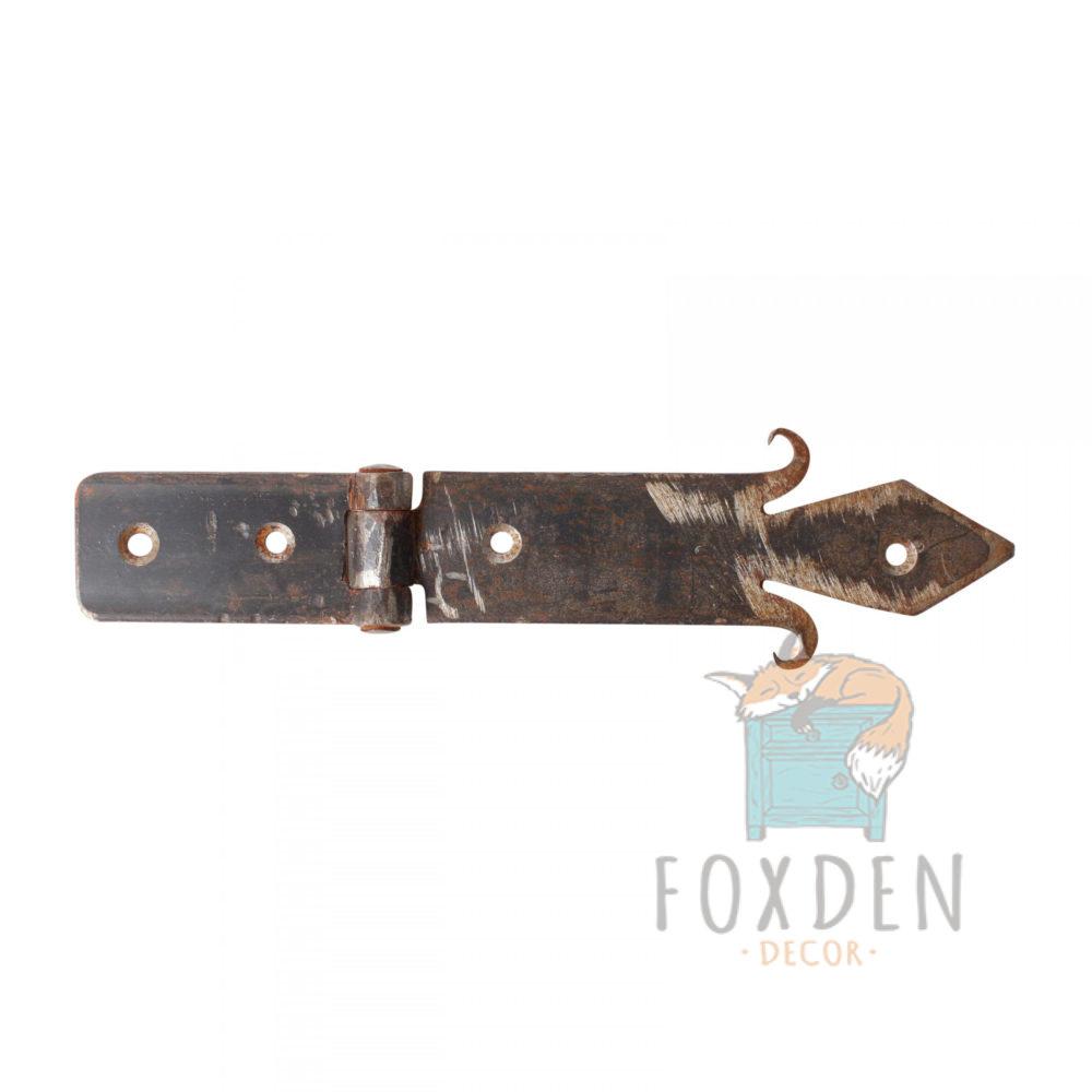 Forged Iron Ornate Hinge