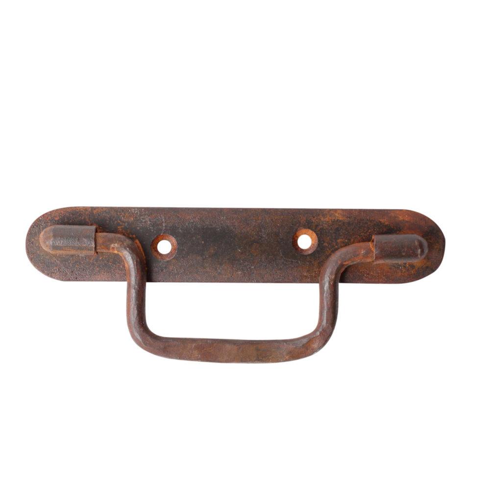 Round drawer pull