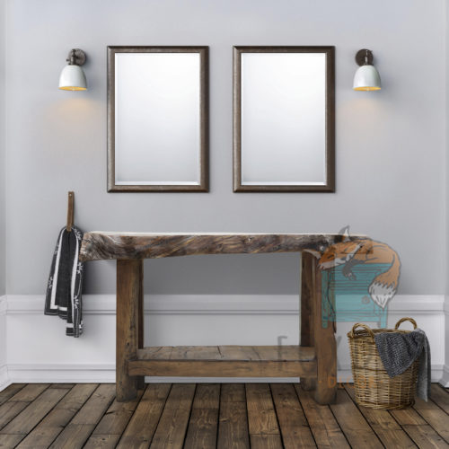 Heritage Rustic Bathroom Vanity