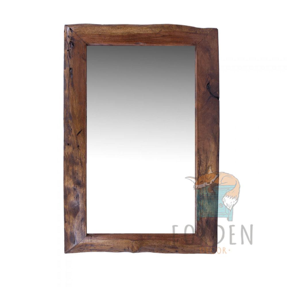 live edge mirror