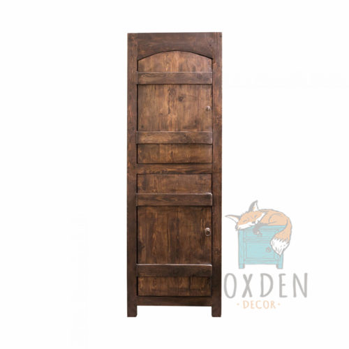 old world linen cabinet