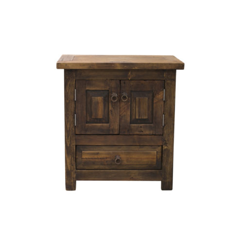 doubled oor concealed nightstand