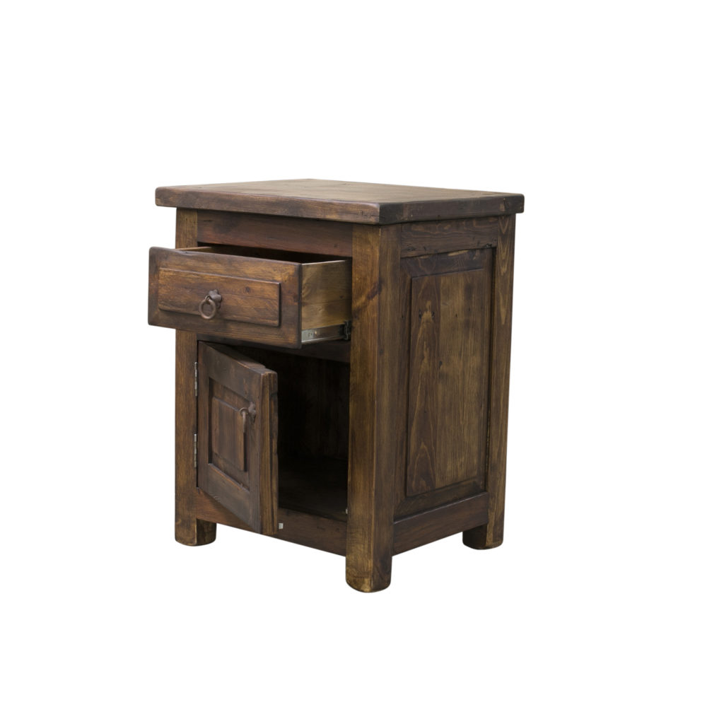 concealed nightstand side