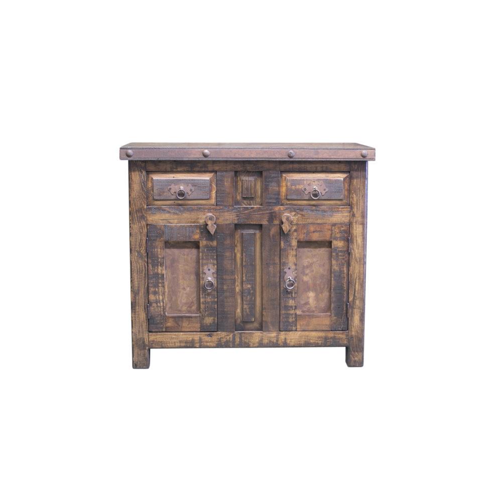bartlett rustic vanity