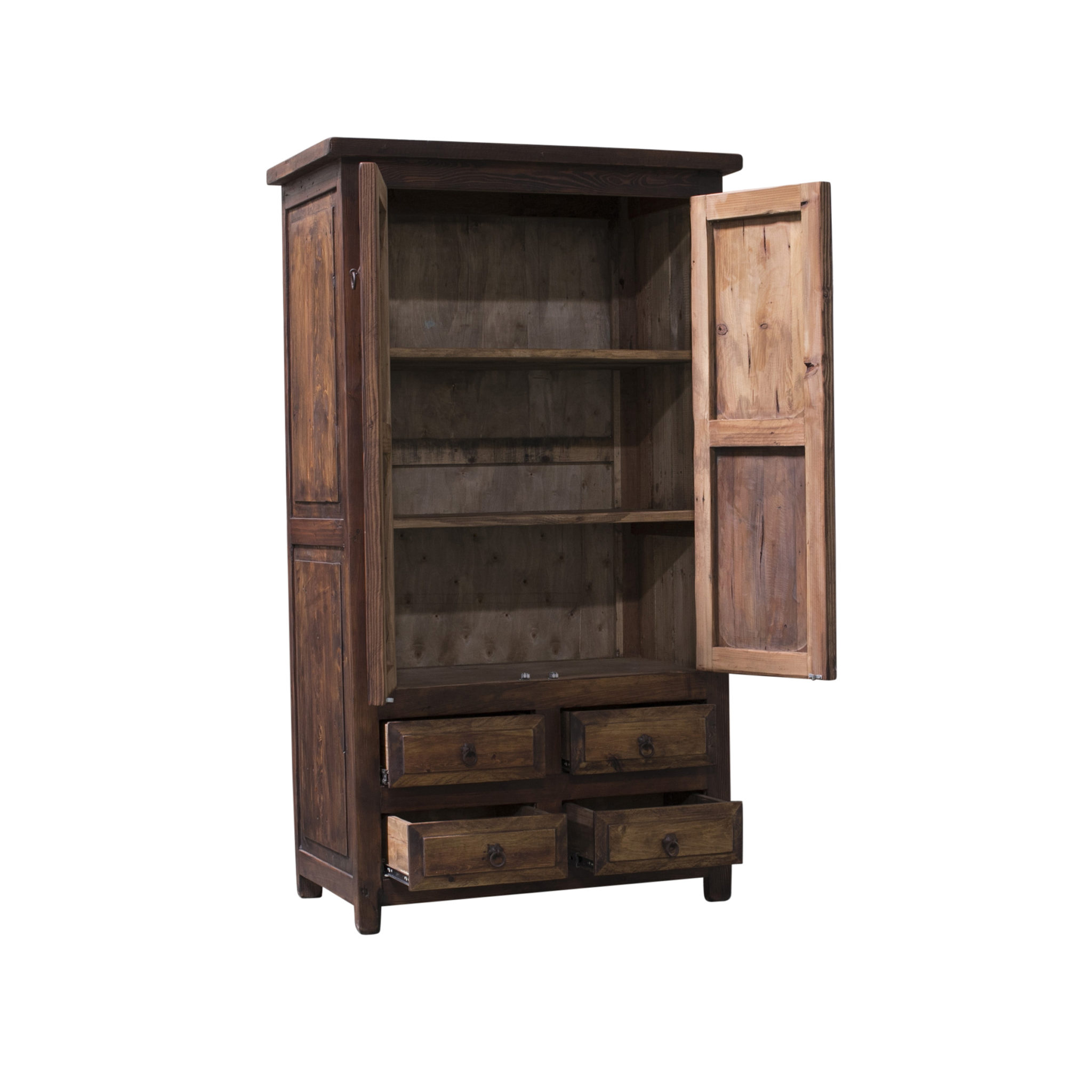 Hemingway Grand Rustic Linen Cabinet