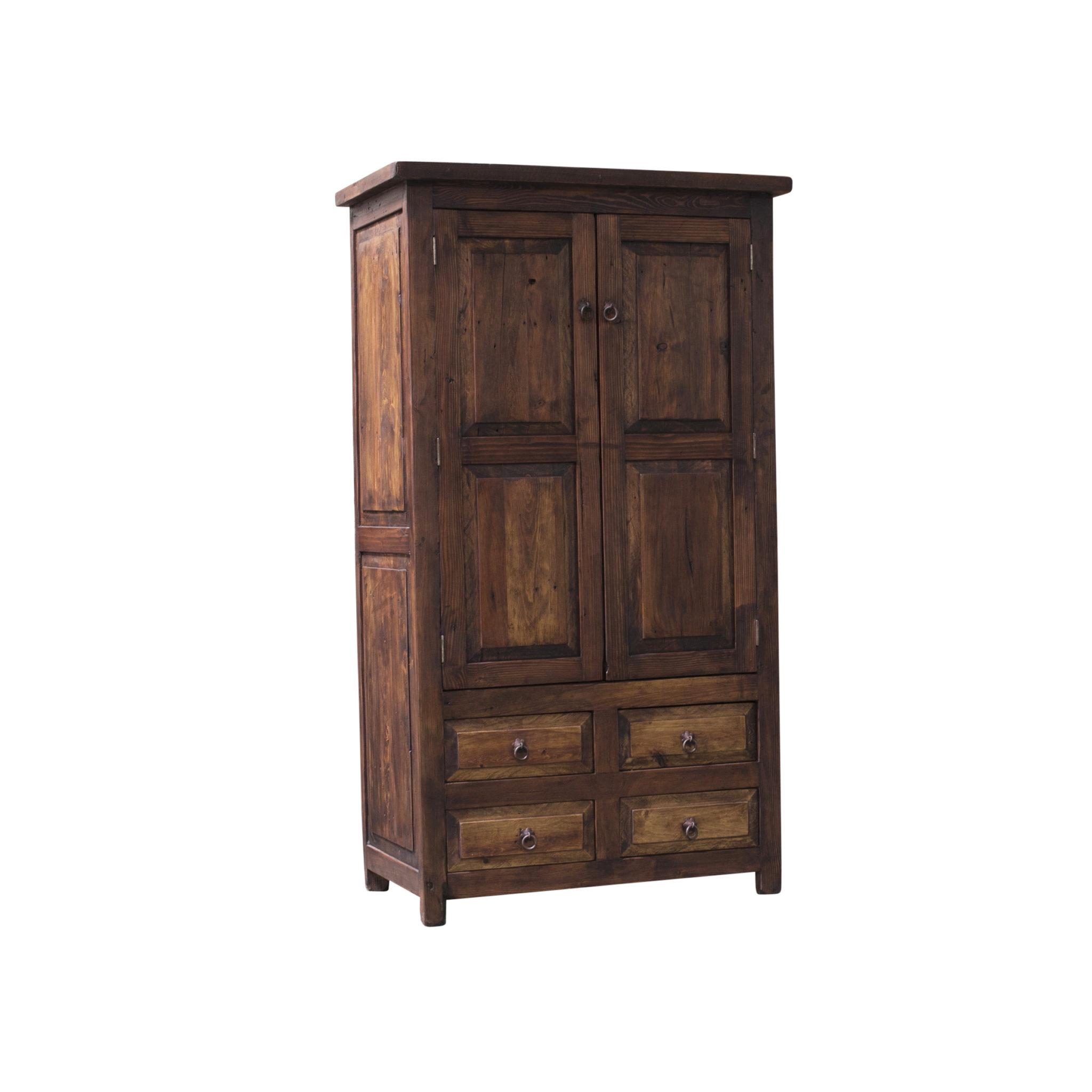 Linen Kitchen Cabinets: Hemingway Grand Rustic Linen Cabinet