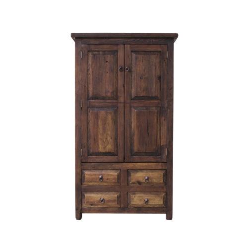 Chandler rustic linen cabinet