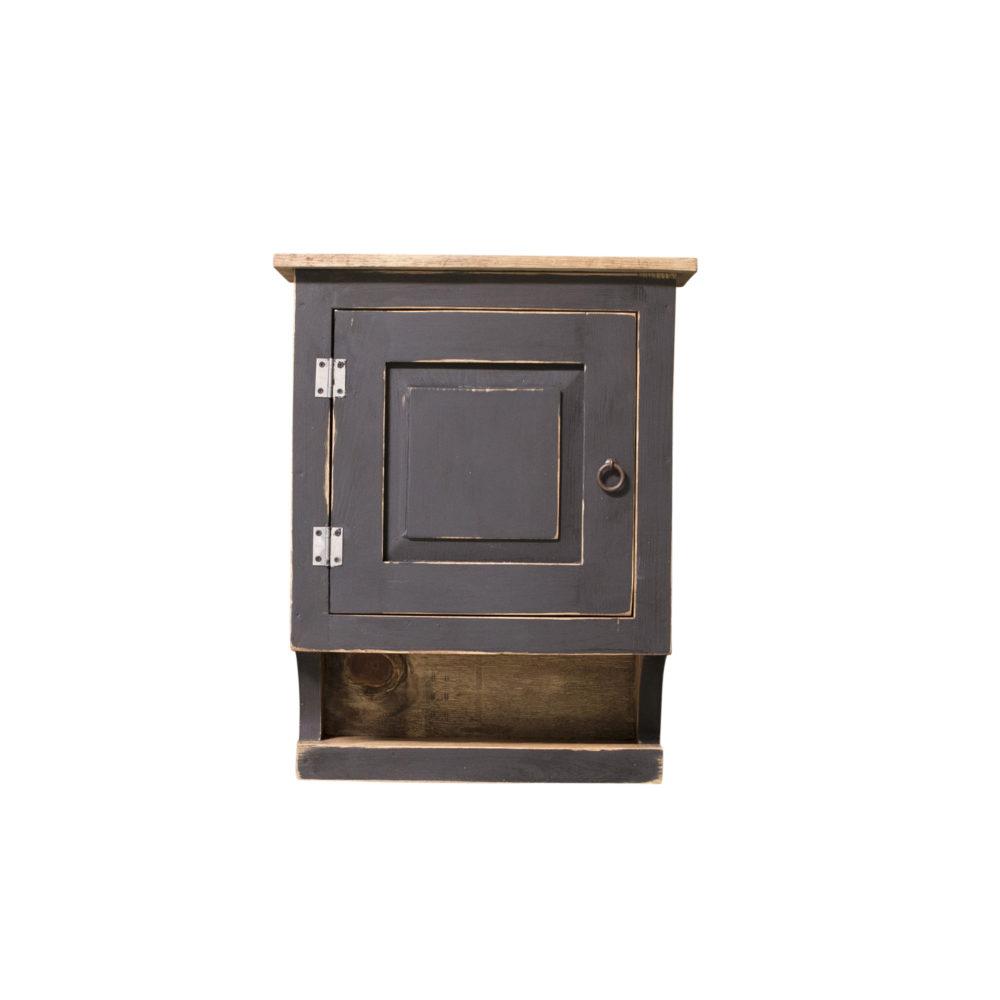 black rustc medicine cabinet