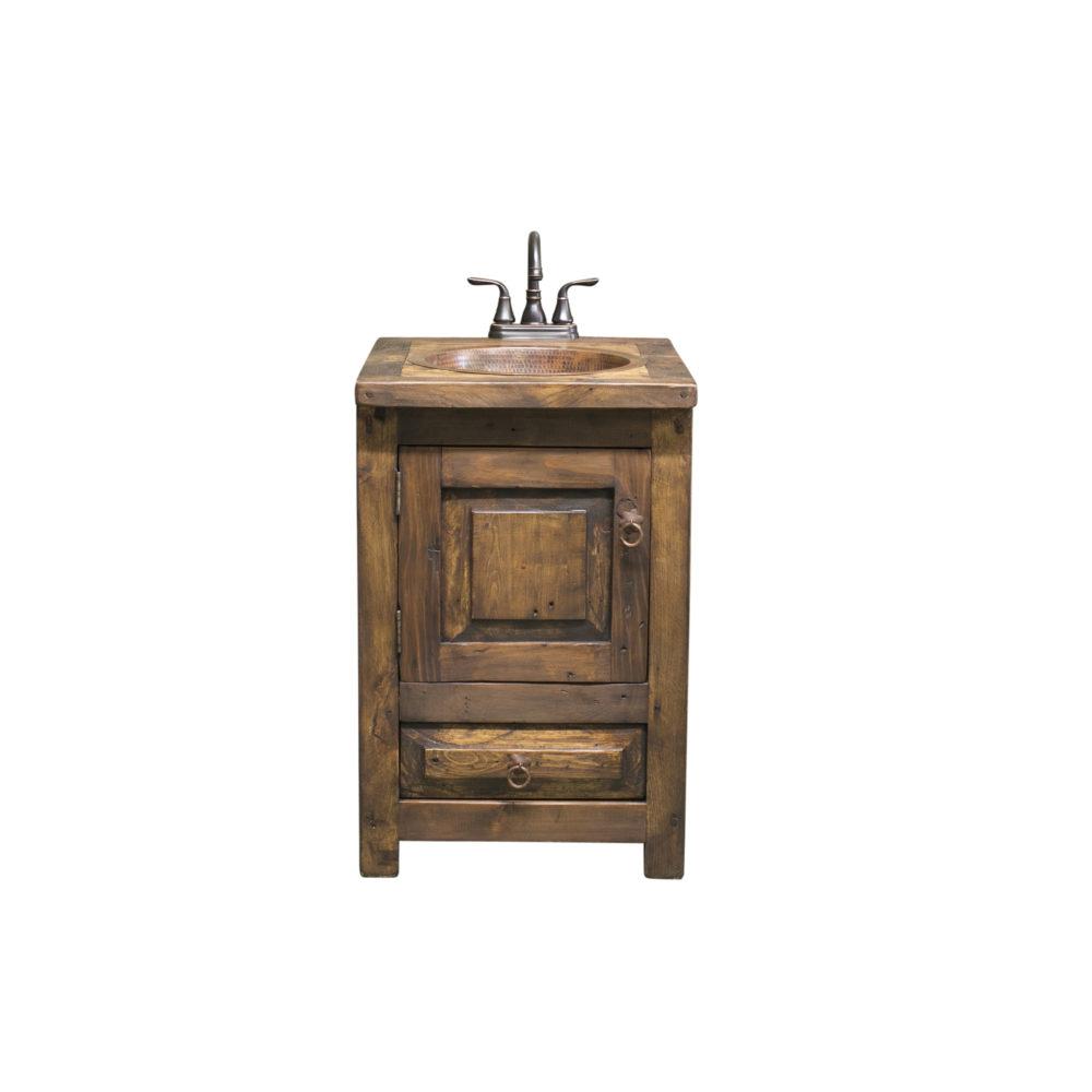 24″ bathroom vanity rustic