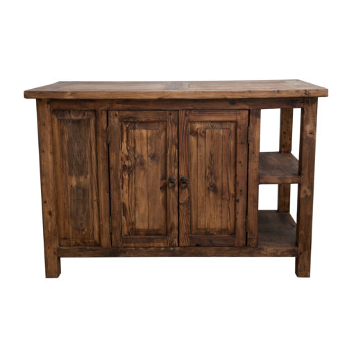 carson reclaimed kitchen island