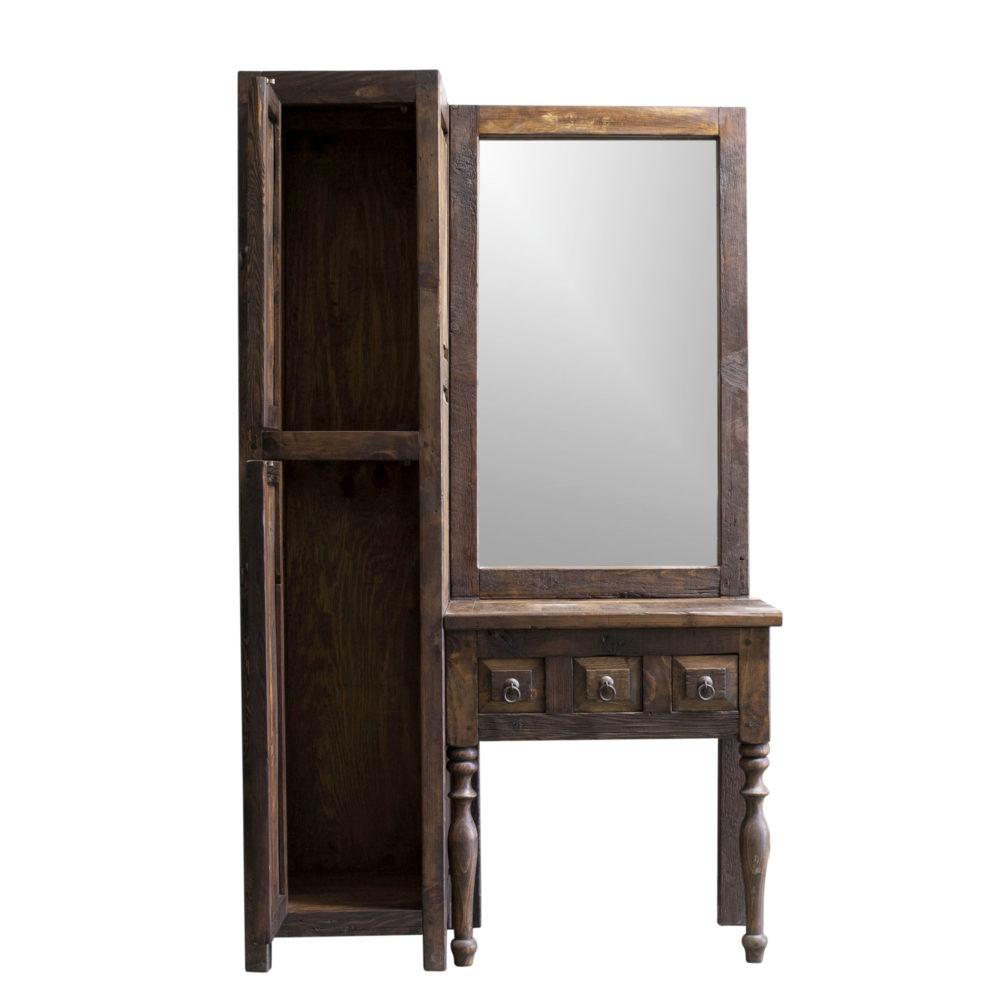 bridgette rustic vanity and linen
